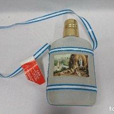 Botellas antiguas: BOTELLA CANTIMPLORA AGUA BENDITA VIRGEN DE LOURDES FRANCIA . Lote 121641619