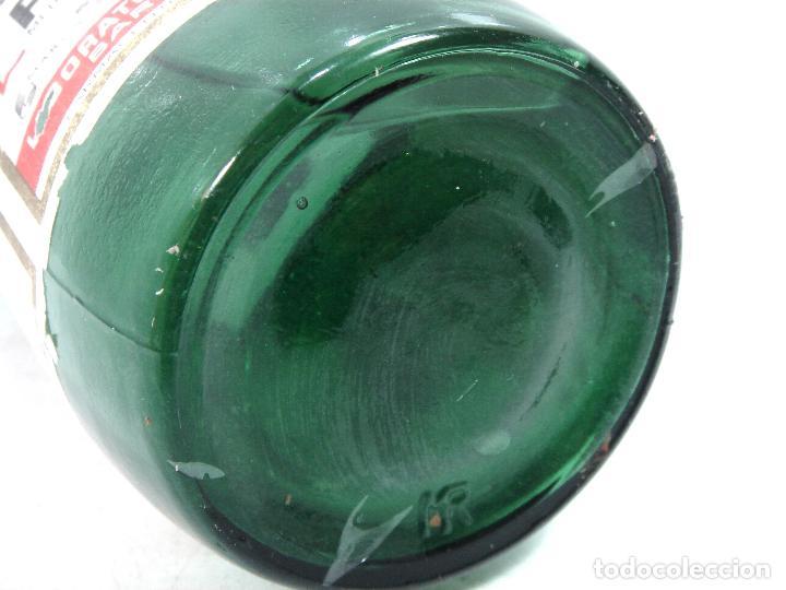 Botellas antiguas: MITICA AGUA OXIGENADA FORET ¡¡PRECINTADA¡¡ BOTELLA 1 LITRO AÑOS 40 -CRISTAL -FRASCO BOTE LLENA - Foto 7 - 122480331