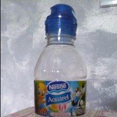 Botellas antiguas: BOTELLA PLÁSTICA VACÍA DE AGUA AQUAREL 33 CL. · SERIE LOONEY TUNES: PIOLÍN Y SILVESTRE. Lote 60183939