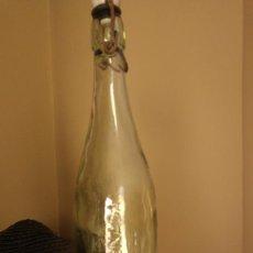 Botellas antiguas: BOTELLA AGUA OXIGENADA FORET. 1 LITRO. Lote 124888891