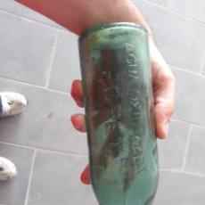 Botellas antiguas: BOTELLA AGUA OXIGENADA. Lote 126474206