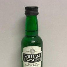 Botellas antiguas: MINI BOTELLITA WILLIAM LAWSONS LLENO // DISPONIBLE:2. Lote 126690043