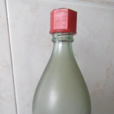 Botellas antiguas: GASEOSA ABC ANTIGUA BOTELLA 1 LITRO . TAPON DE BAQUELITA TZ. Lote 127129775