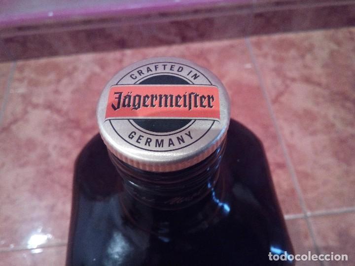 Botellas antiguas: BOTELLA DE PUBLICIDAD DE GRAN TAMAÑO DE JAGERMEIFTER - Foto 5 - 127575751