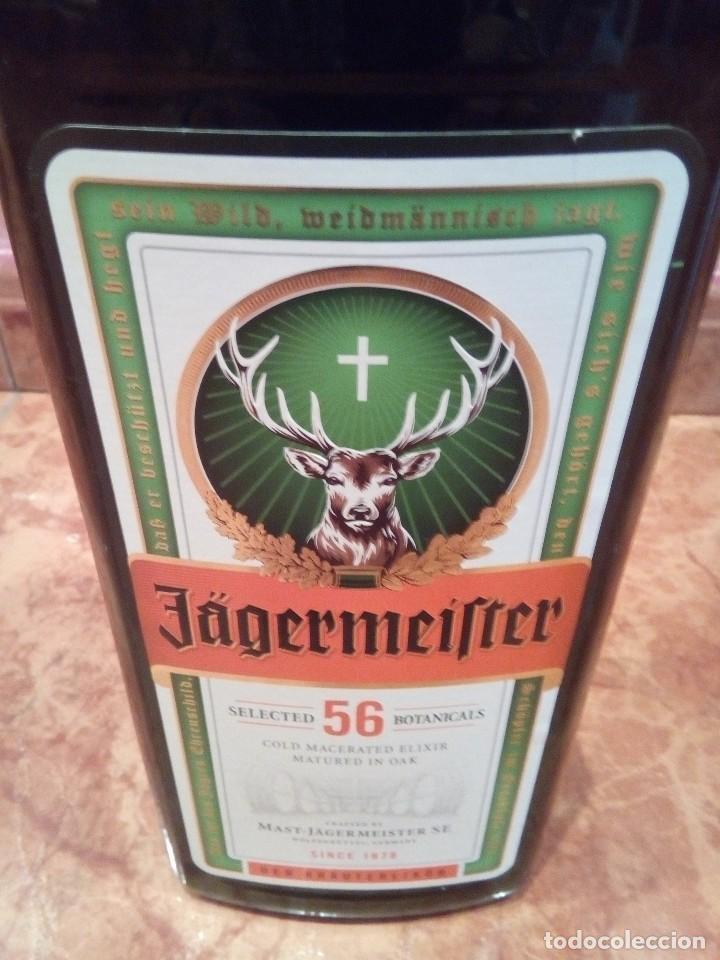 Botellas antiguas: BOTELLA DE PUBLICIDAD DE GRAN TAMAÑO DE JAGERMEIFTER - Foto 6 - 127575751