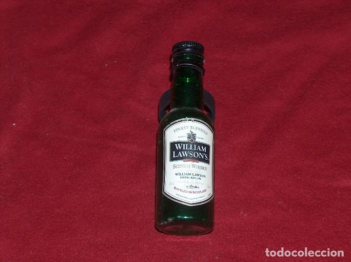 WILLIAM LAWSON`S, 5CL. (Coleccionismo - Botellas y Bebidas - Botellas Antiguas)