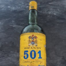 Botellas antiguas: BOTELLA BRANDY 501 MAGNUM ANTIGUA. Lote 235598650