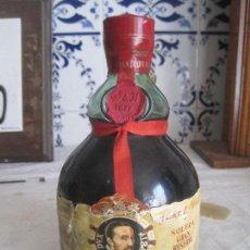 Botellas antiguas: BOTELLA CON BRANDY GRAN DUQUE DE ALBA SOLERA GRAN RESERVA DE LUXE BRANDY JEREZANO. Lote 128516115
