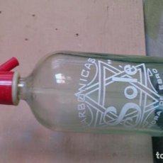 Botellas antiguas: SIFON SOLÉ. MORA DE EBRO. Lote 129153787