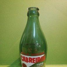 Botellas antiguas: BOTELLA CABREIROÁ ANTIGUA BOTELLA DE AGUA CABREIROÁ SERIGRAFIADA.. Lote 129958311