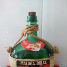 Botellas antiguas: BONITA BOTELLA FORRADA. Lote 130403938