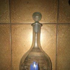 Botellas antiguas: ANTIGUA BOTELLA DECANTADOR VINO EJÉRCITO DE TIERRA S.H. . Lote 131285779