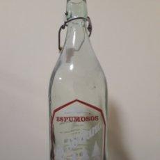 Botellas antiguas: BOTELLA ESPUMOSOS LA SORIANA. Lote 132310725