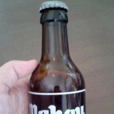 Botellas antiguas: BOTELLA MAHOU EDICIÓN ESPECIAL MADRID. BOTIJO MAHOU. 20CL. VACÍA. Lote 134181366