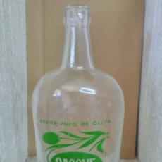 Botellas antiguas: BOTELLA ACEITE SACOVE. Lote 134770707