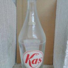 Botellas antiguas: BOTELLA REFRESCO LITRO KAS. Lote 134891553