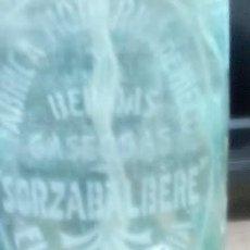 Botellas antiguas: SIFON SORZABALBERE FUENTERRABIA GUIPUZCOA FABRICA DE HIELOS Y BEBIDAS. Lote 136737938