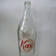 Botellas antiguas: BOTELLA KAS NARANJA ( 1 LITRO ) AÑOS 70. Lote 137692812