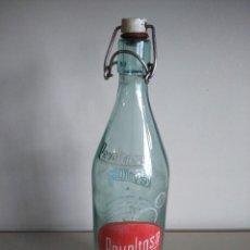 Botellas antiguas: BOTELLA DE GASEOSA -- REVOLTOSA -- 1 LITRO --. Lote 139052898