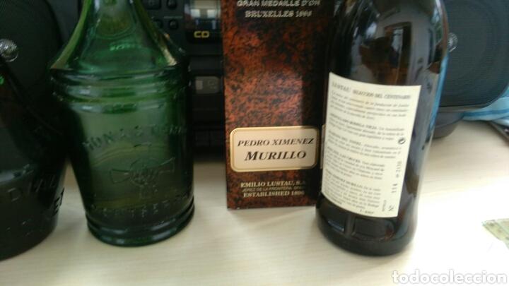 Botellas antiguas: BOTELLAS VACIAS DE CALISAY, CORDIAL PERICKET, AROMAS Y P.X. LUSTAU. - Foto 5 - 141313062