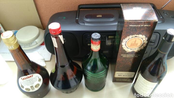 Botellas antiguas: BOTELLAS VACIAS DE CALISAY, CORDIAL PERICKET, AROMAS Y P.X. LUSTAU. - Foto 6 - 141313062