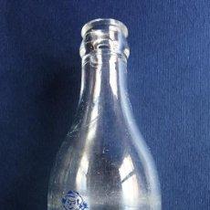 Botellas antiguas: ANTIGUA BOTELLA / BOTELLÍN LECHE Y BATIDOS NUTRIA GRANJA FUSTER VALENCIA AÑOS 60. Lote 141547194