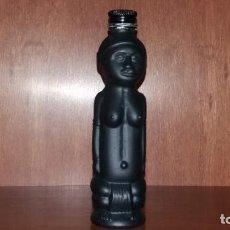 Botellas antiguas: BOTELLA DE LICOR EN MINIATURA. Lote 141587426