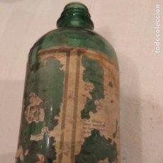 Botellas antiguas: ANTIGUA BOTELLA DE AGUA OXIGENADA -FORET- BOTELLA DE CRISTAL.. Lote 142275494