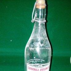 Botellas antiguas: BOTELLA DE CARBONICAS AROSANAS. Lote 143206570