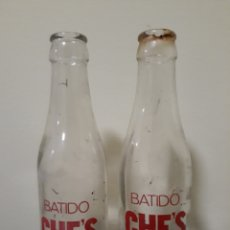 Botellas antiguas: BOTELLAS BATIDOS CHE,S. Lote 143934741