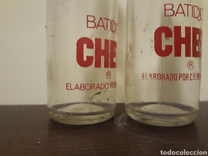 Botellas antiguas: Botellas batidos che,s - Foto 3 - 143934741