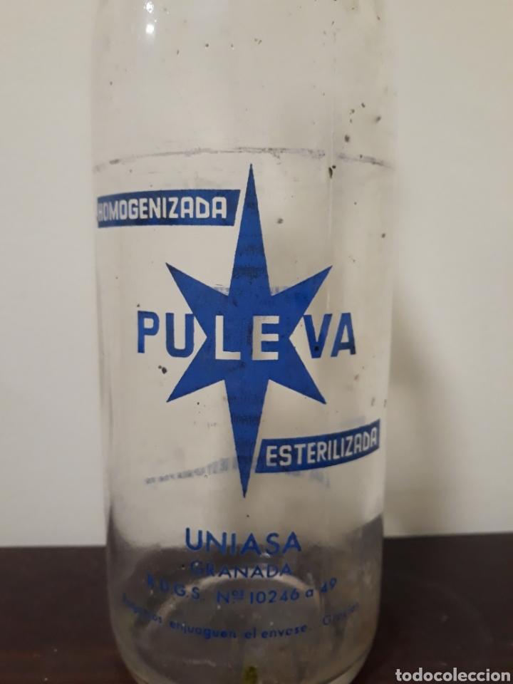 Botellas antiguas: Botella leche puleva 1litro - Foto 3 - 143937550