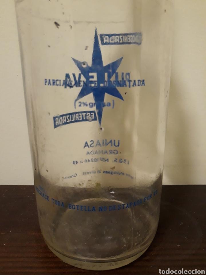 Botellas antiguas: Botella leche puleva 1litro - Foto 4 - 143937550