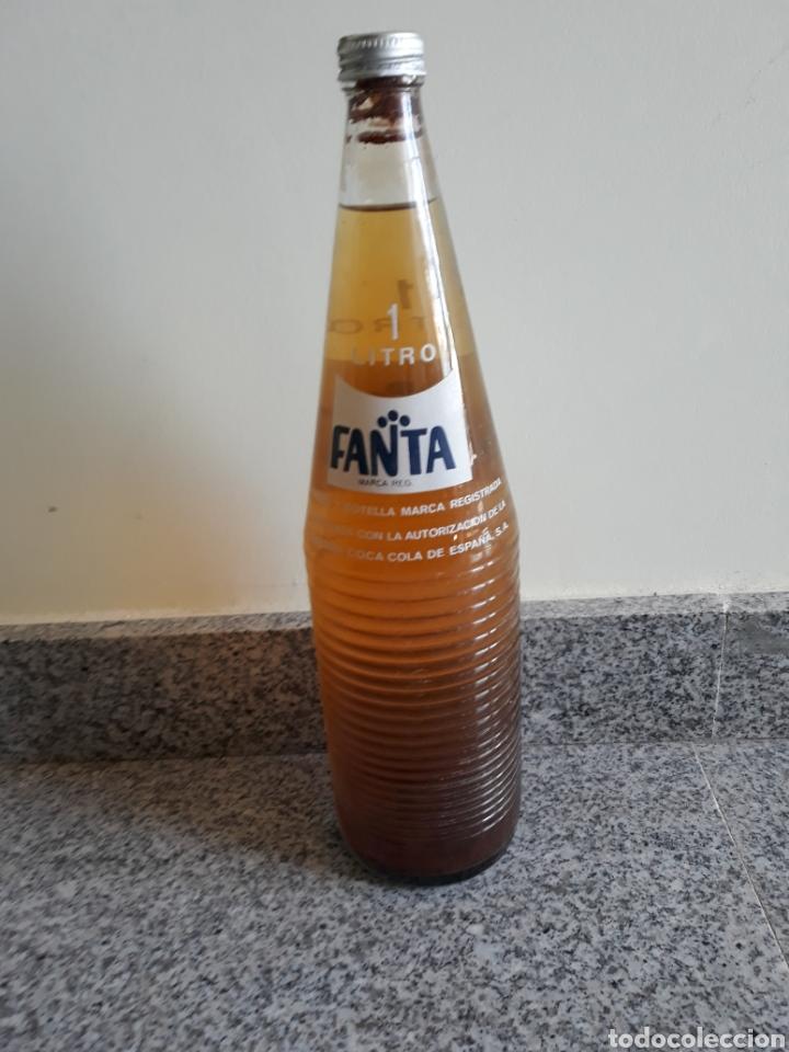 Botellas antiguas: Botella fanta - Foto 2 - 144233861