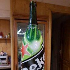 Botellas antiguas: BOTELLA DE CERVEZA DE 3 LITROS HEINEKEN (VACIA). Lote 146162354