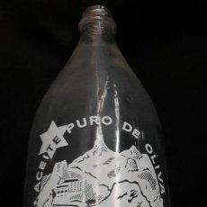 Botellas antiguas: BOTELLA DE ACEITE ESTELA. Lote 146477286
