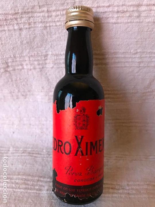 Botellas antiguas: 16 botellas miniatura antiguas - Foto 15 - 147756302