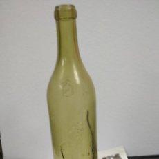 Botellas antiguas: BOTELLA ANTIGUA COÑAC CABALLERO 186. VACIA. Lote 148042238