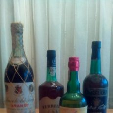 Botellas antiguas: BOTELLAS ANTIGUAS. Lote 149517106