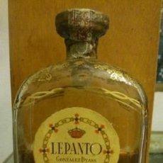 Botellas antiguas - BRANDY LEPANTO GONZALEZ BYASS JEREZ - 151061298