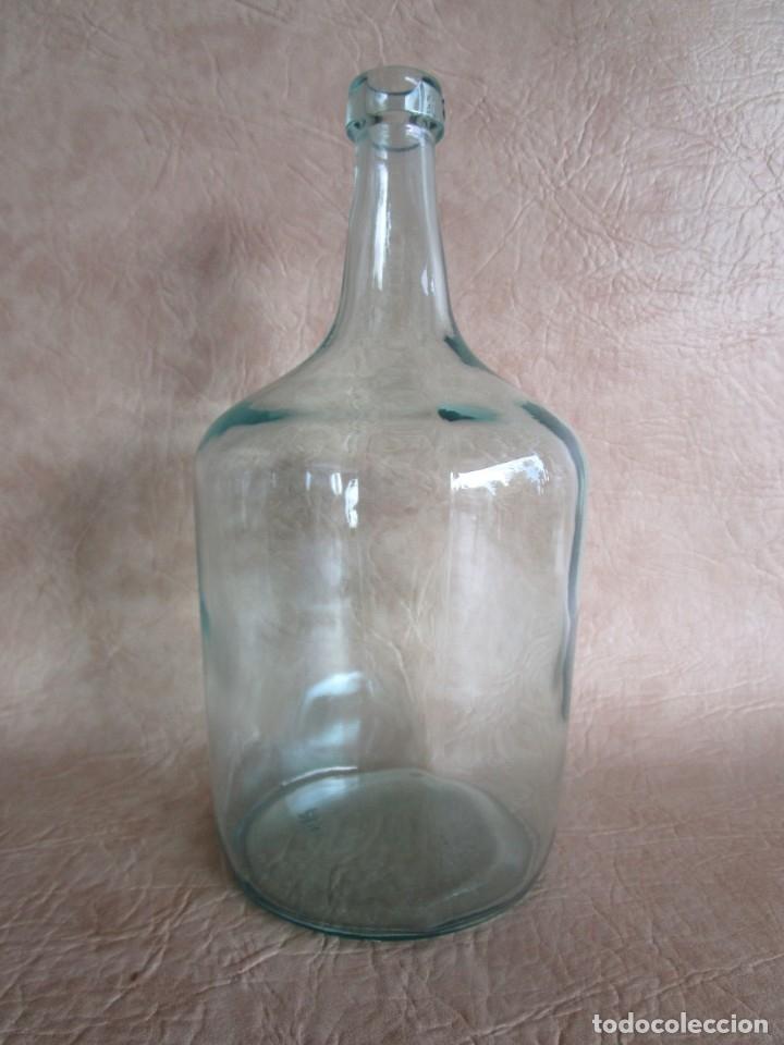 BOTELLA CRISTAL DAMAJUANA 2 LITROS (Coleccionismo - Botellas y Bebidas - Botellas Antiguas)