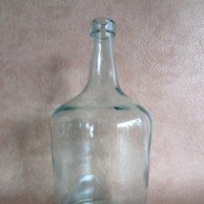 Botellas antiguas: BOTELLA CRISTAL DAMAJUANA 2 LITROS. Lote 32833236