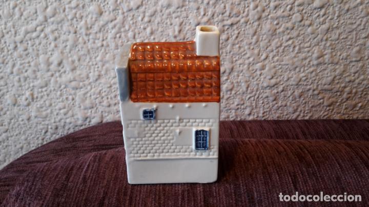 Botellas antiguas: casita botella en cerámica de Delfts - Foto 2 - 152250790