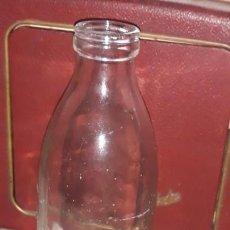 Botellas antiguas: BOTELLA DE LECHE ONA, BOCA ANCHA, 1 LITRO. Lote 153254430