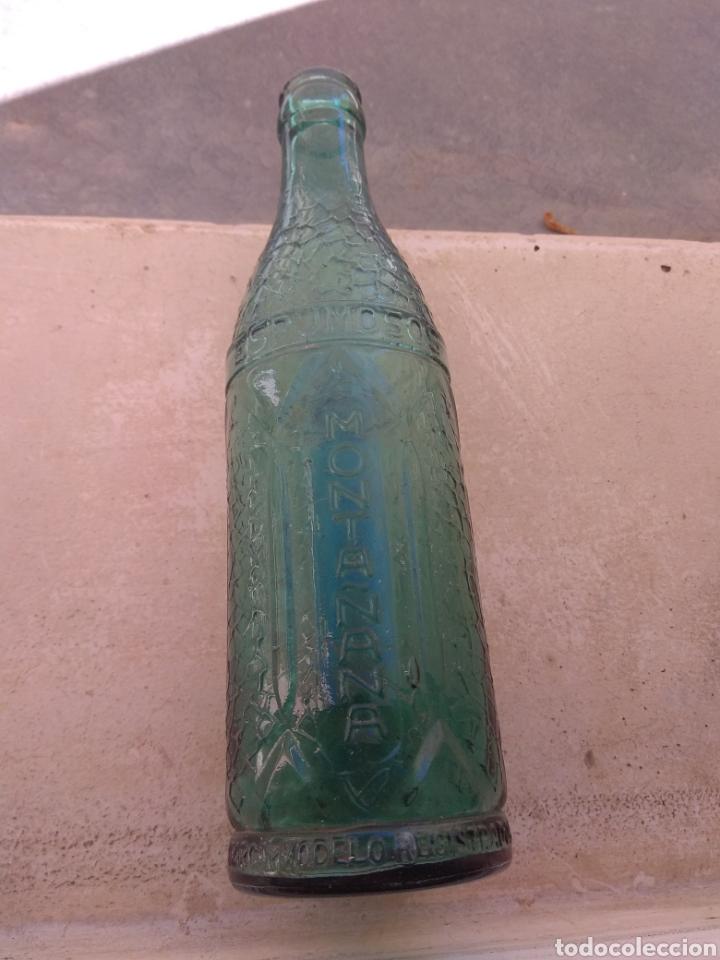 ANTIGUA BOTELLA ESPUMOSOS MONTAÑANA - LA HUERTANA - VALENCIA - RARA - (Coleccionismo - Botellas y Bebidas - Botellas Antiguas)