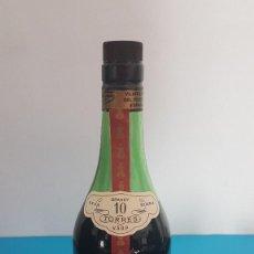 Botellas antiguas: BRANDY TORRES IMPERIAL BRANDY GRAN RESERVA GRAND ROUGE. Lote 155630814