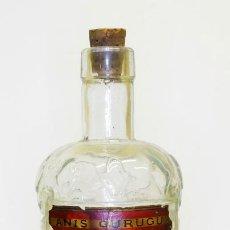 Botellas antiguas: 1921C - RARÍSIMA Y ÚNICA BOTELLA DE ANÍS GURUGU - POSIBLEMENTE CELEBRANDO LA OPERACIÓN MONTE GURUGÚ. Lote 156595338