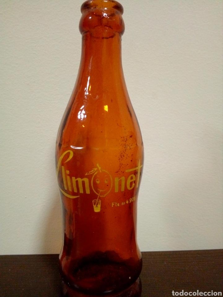 BOTELLA REFRESCO LIMONET (Coleccionismo - Botellas y Bebidas - Botellas Antiguas)