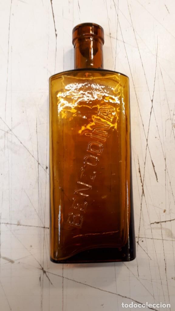 BOTELLA BENZODINA (Coleccionismo - Botellas y Bebidas - Botellas Antiguas)