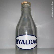 Botellas antiguas: ANTIGUA BOTELLA DE RYALCAO, ALIBER S.A. Lote 159401110